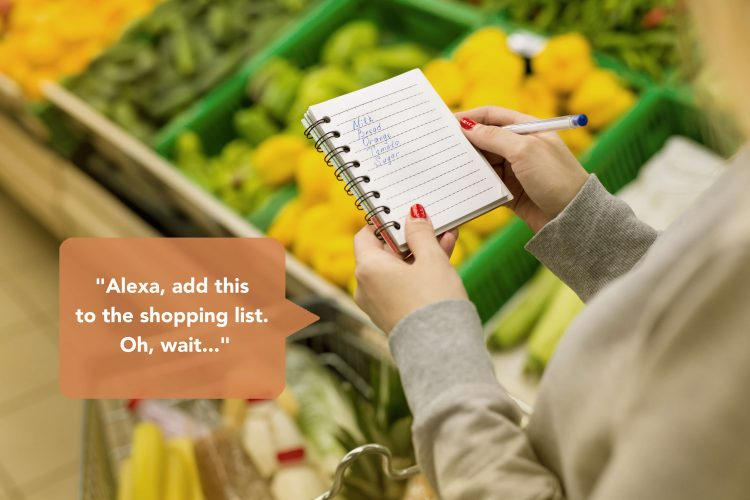 Make shoppin lists to control your spending