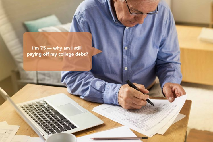Financial stage of late retirement