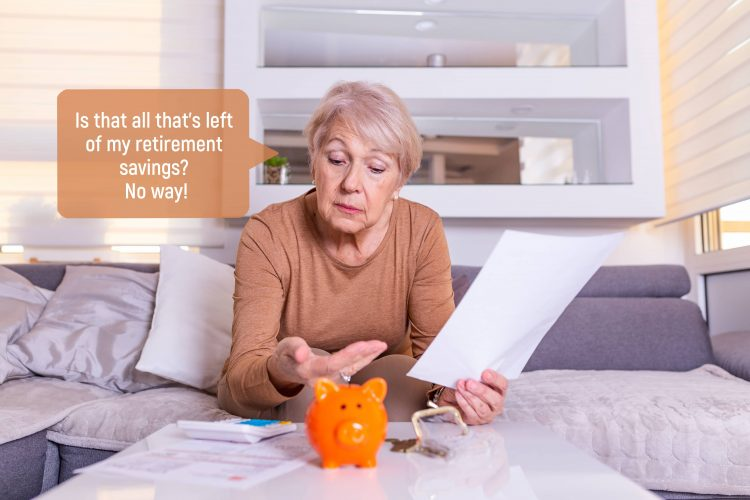 Accounting for inflation when calculating retirement savings target