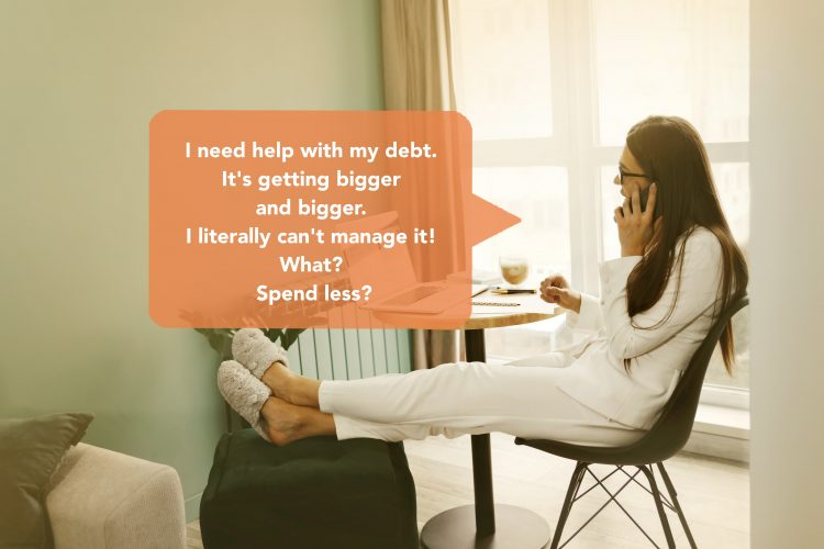 You need yo make your debt more manageable